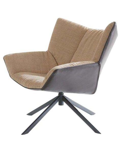 fauteuil gustav van label draaibaar onderstel