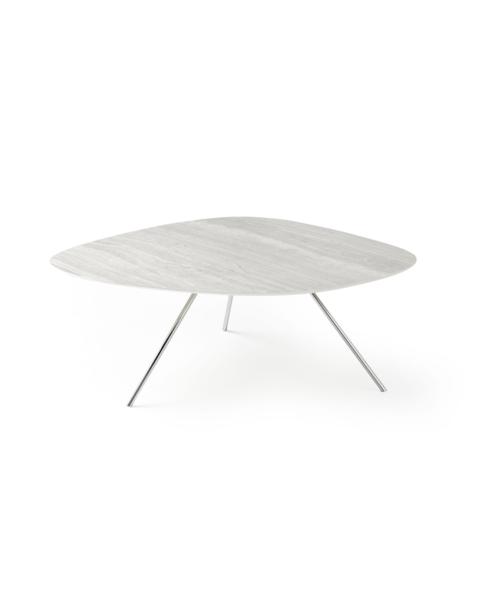 liliom salontafel grijs unieke vorm