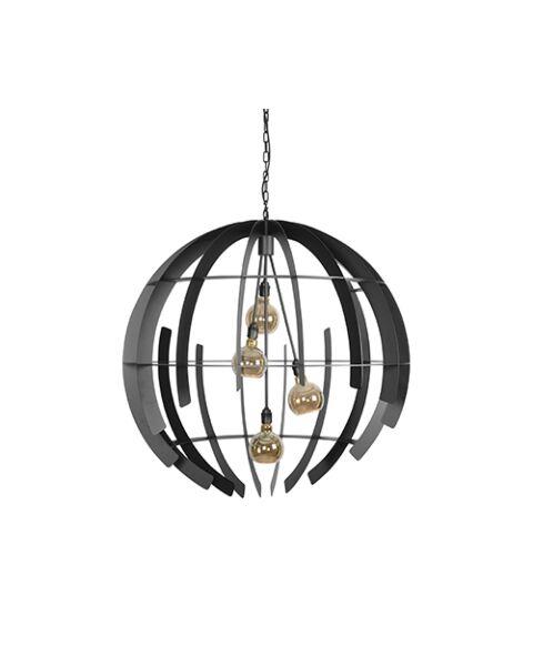 Hanglamp Terra Zwart 2401