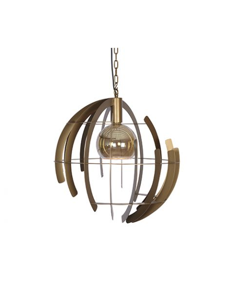 Hanglamp Terra Messing Ø60cm
