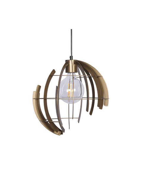 Hanglamp Terra 2402-O-Messing
