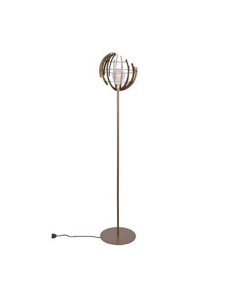 Vloerlamp Terra-O-Messing