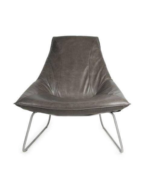 jess design beal fauteuil grijs