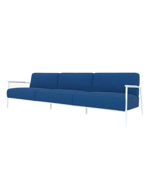 studio henk 3.5 zits bank co lounge blauw