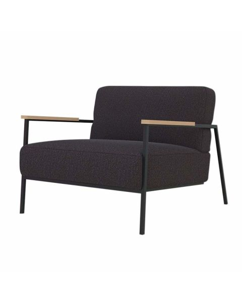 studio henk co lounge fauteuil zwart