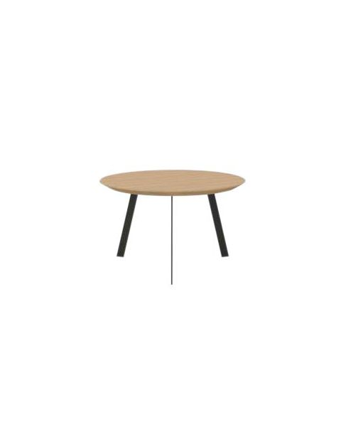 Studio Henk Salontafel New Co Rond Hout 70 cm