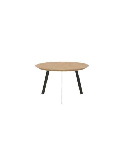 Studio Henk Salontafel New Co Rond Hout 90 cm