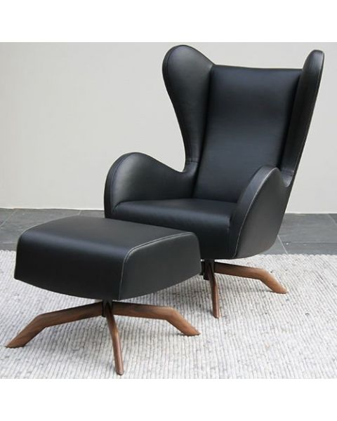Montis fauteuil Felix showroommodel + hocker
