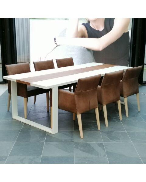 HE Design Eetkamerstoelen Monaco - Toledo Leder - Set 6 stuks
