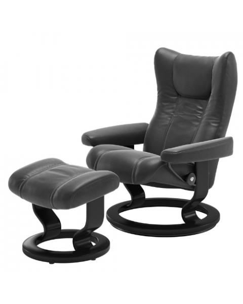 Stressless Relaxfauteuil Wing Rond Onderstel