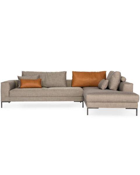 design on stock stofstalen aikon lounge hoekbank
